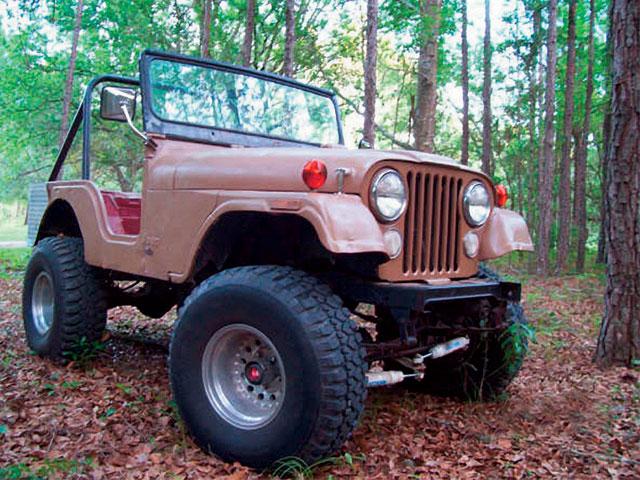 rock crawling jeep